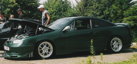 Calibra The green Hornet
